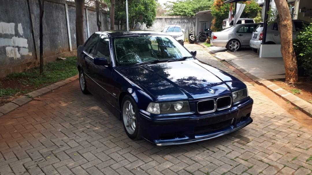 Bmw E36 323 MT ASC 1996 Biru