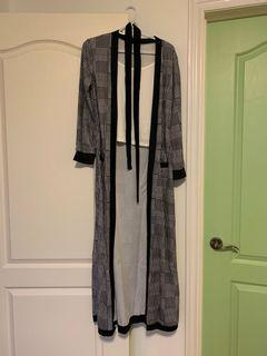BNWT Matching Black and White Cardigan and Trousers Set