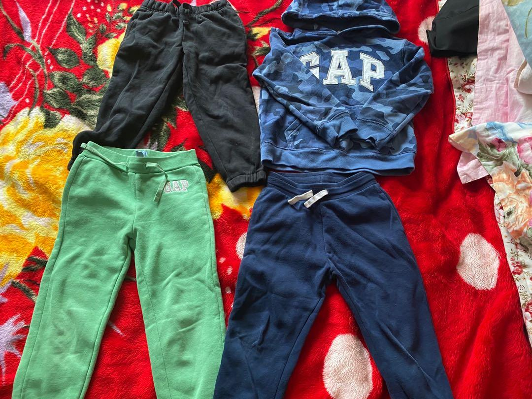 boys sweatpants and hoodie