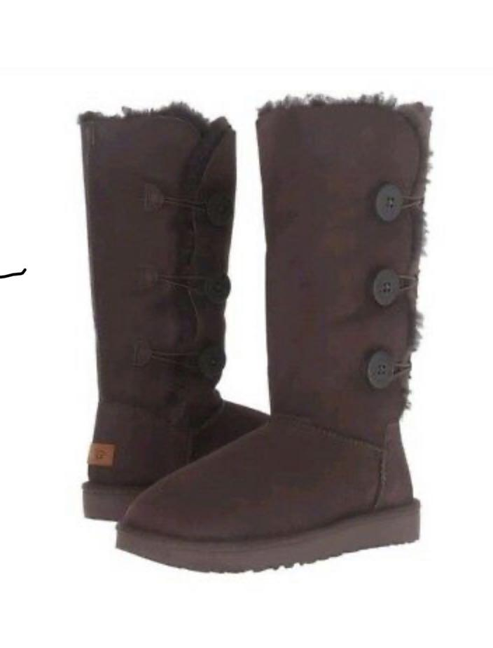 Brand new bailey button triplet uggs