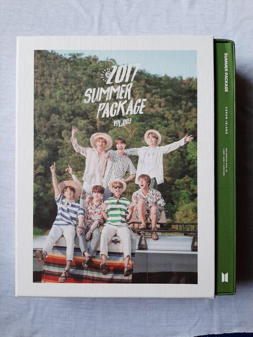 BTS 2017 Summer Package 夏日寫真