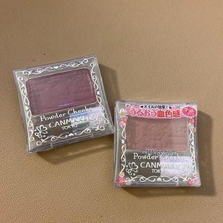 CANMAKE血色腮紅  PW38 PW41