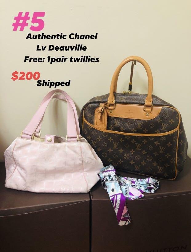 Chanel and lv