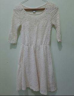 COTTON ON Broken White Brocade Dress