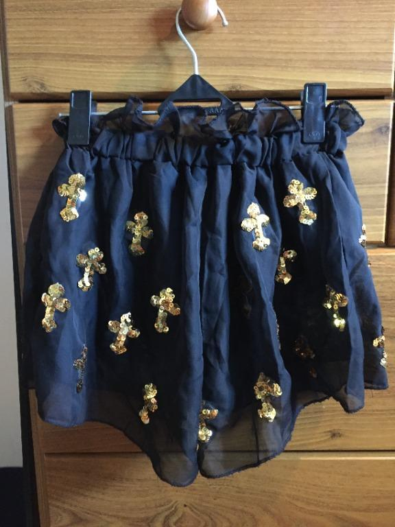 Cross Detail Shorts