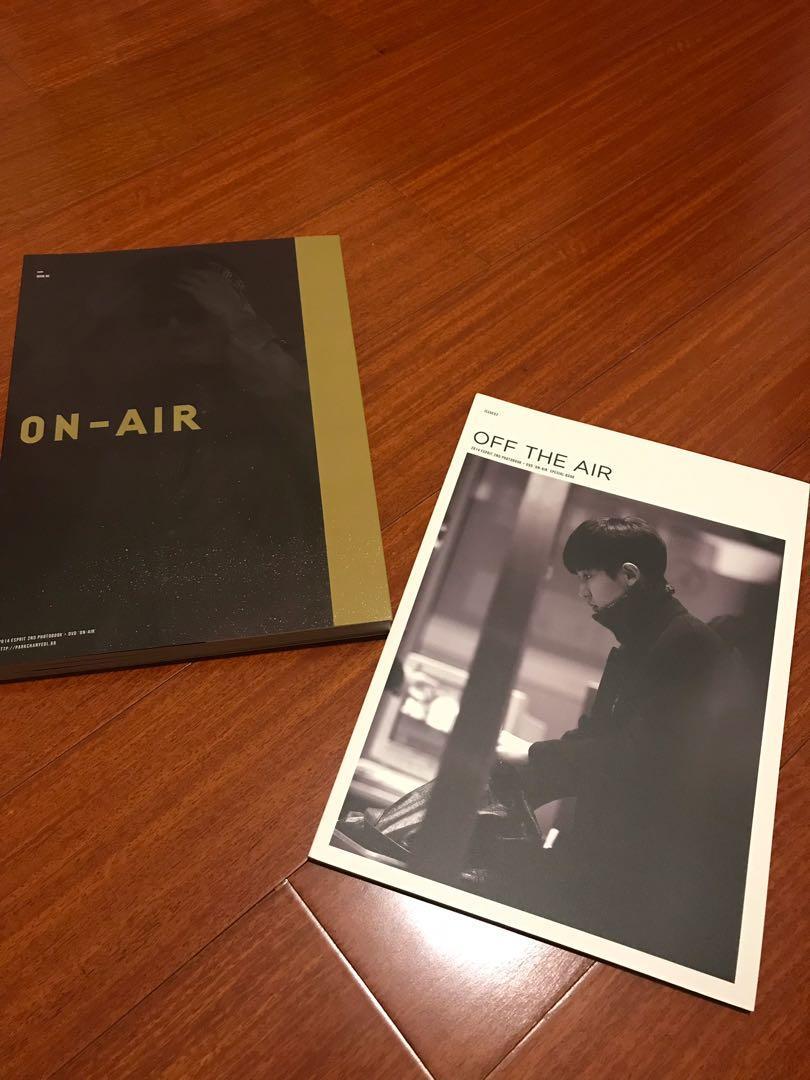 EXO 燦烈 韓站Esprit 2nd寫真書(送扇子)