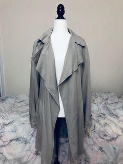 forever 21 jacket duster size m