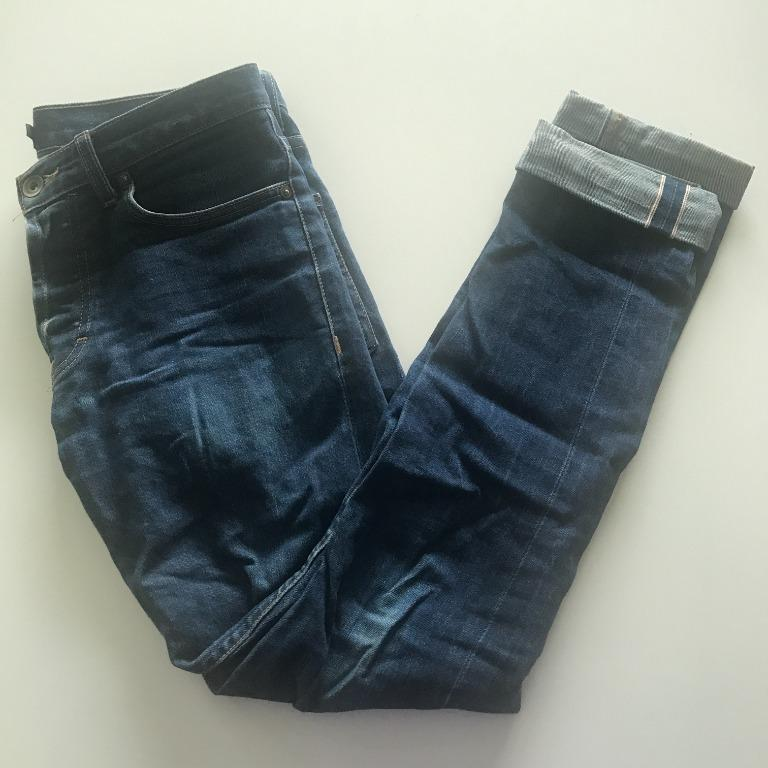 Frank & Oak Men's Jeans Slim Straight 30x32