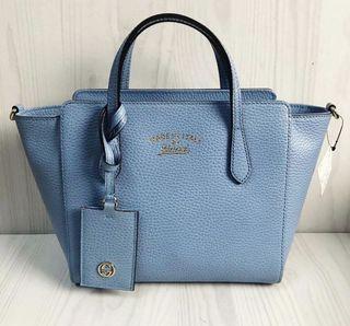Gucci Mini Swing Blue