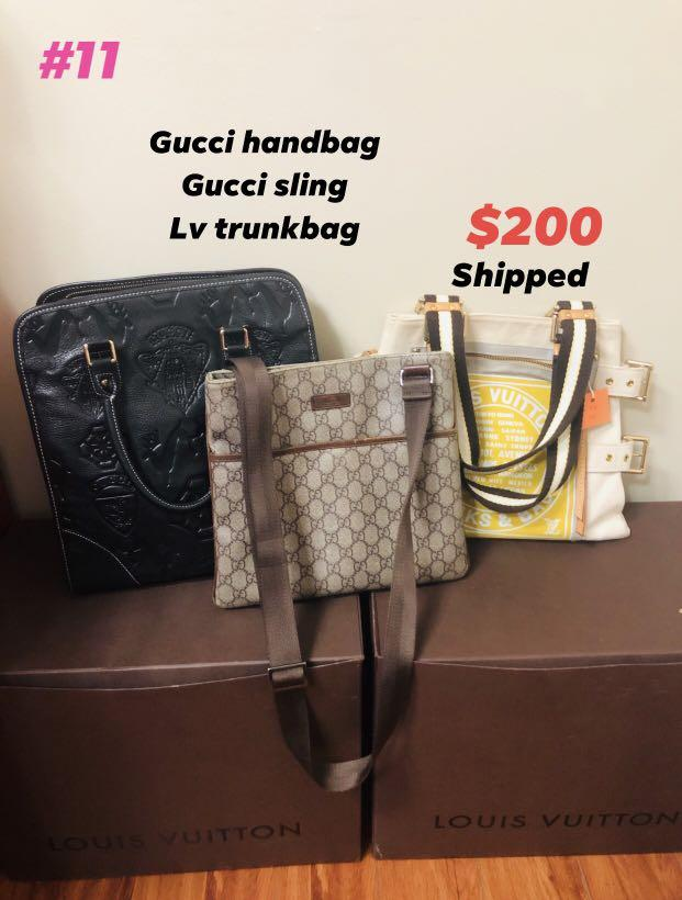 Gucci set and Lv