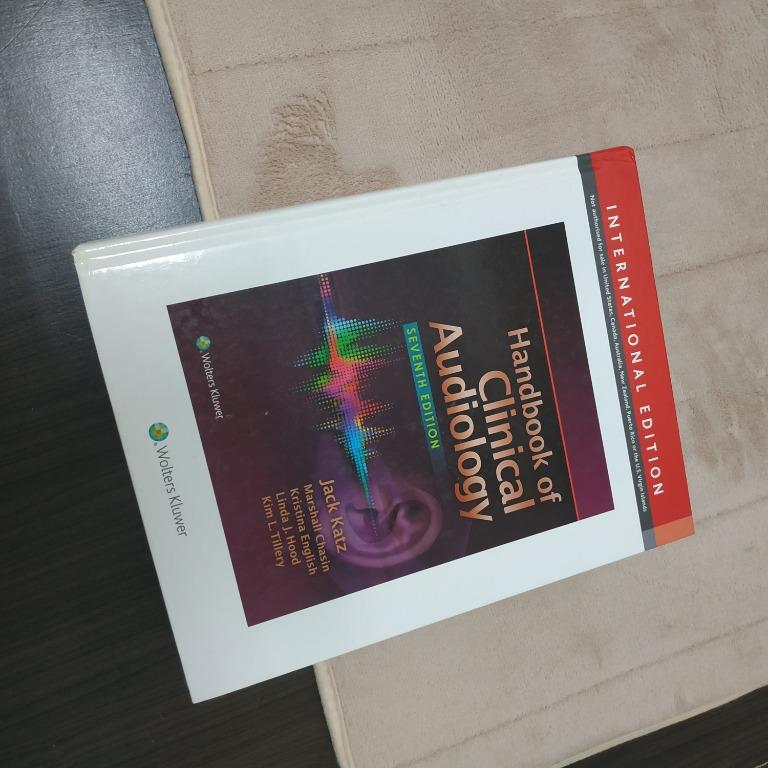 Handbook of Clinical Audiology (國際版,七版)