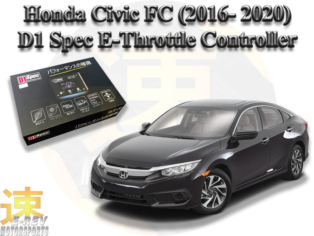 Honda Civic Fc 2016 2020 D1 Spec E Throttle Controller Car Accessories Accessories On Carousell