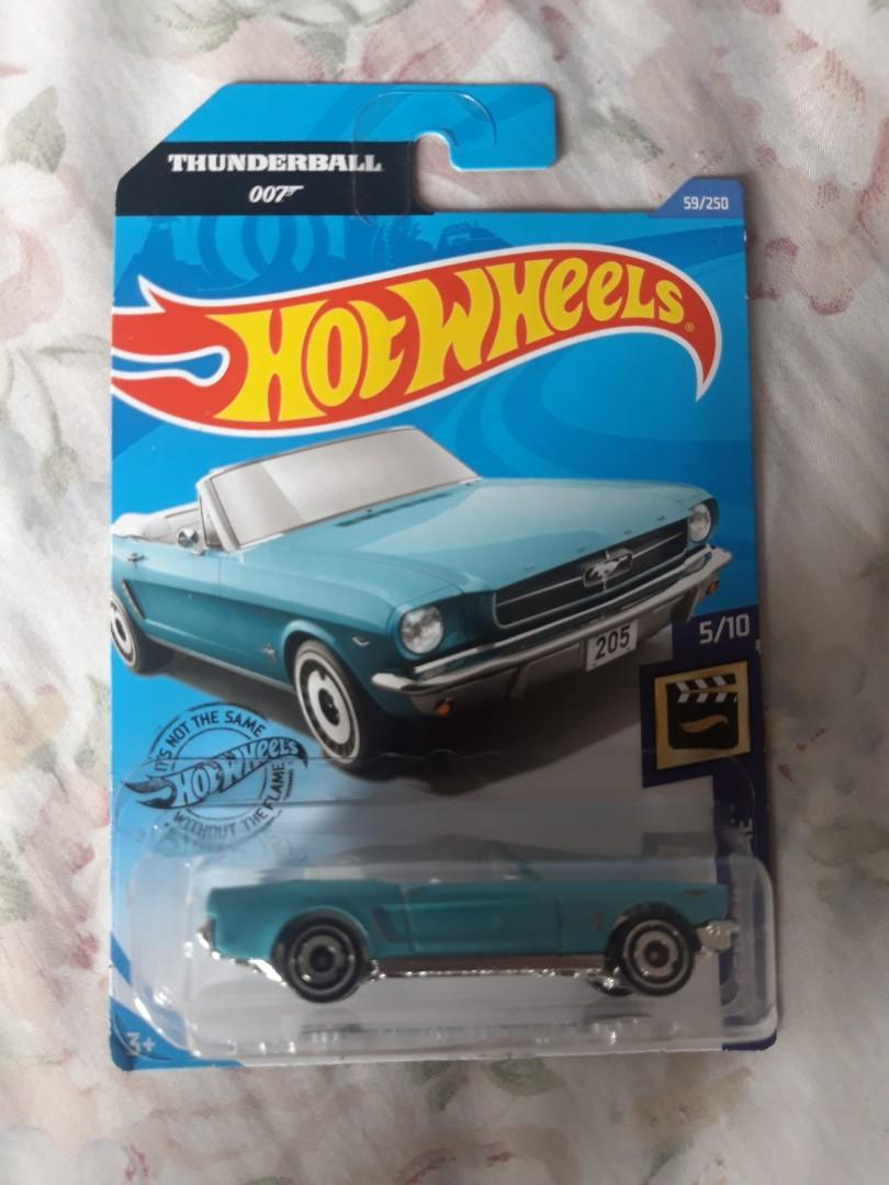 Hot Wheels Mustang edisi 007