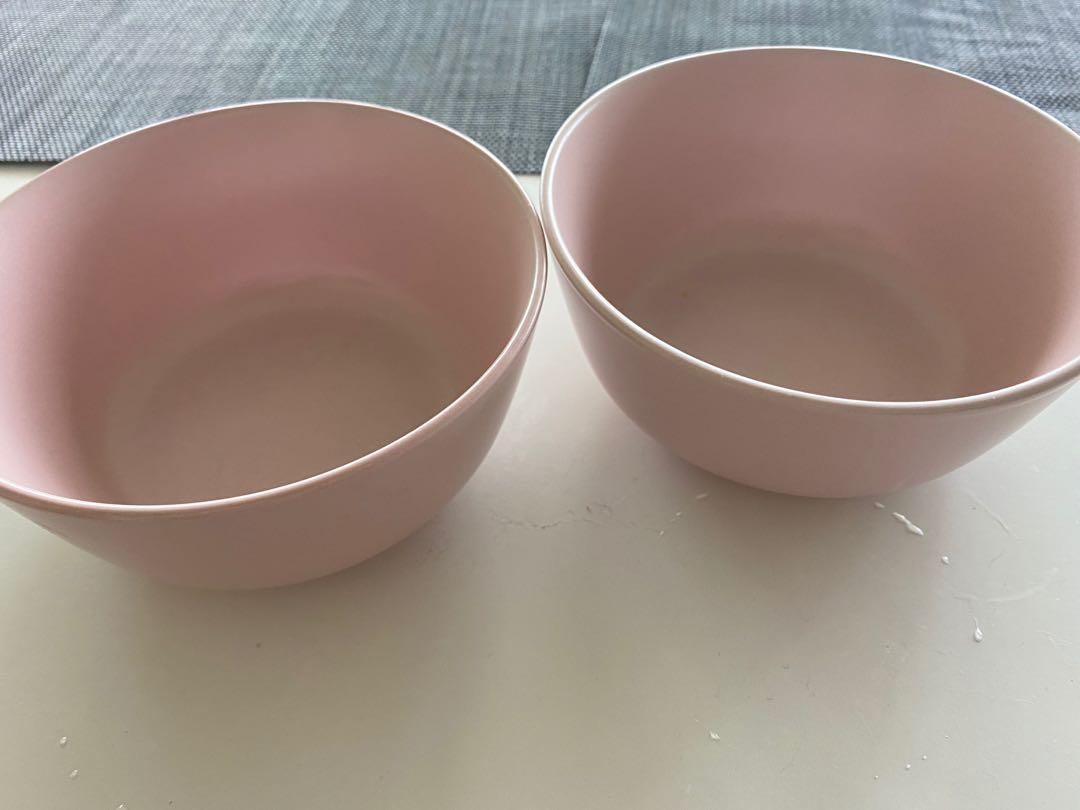 ONE ikea pink bowl