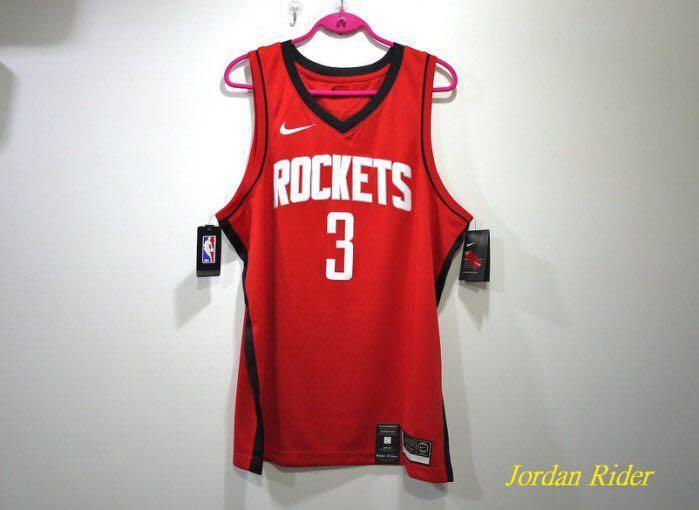 Jordan Rider 喬丹騎士 NIKE NBA Swingman Chris Paul 3 CP3 保羅 休士頓 火箭隊 紅色 客場 球衣 Rockets