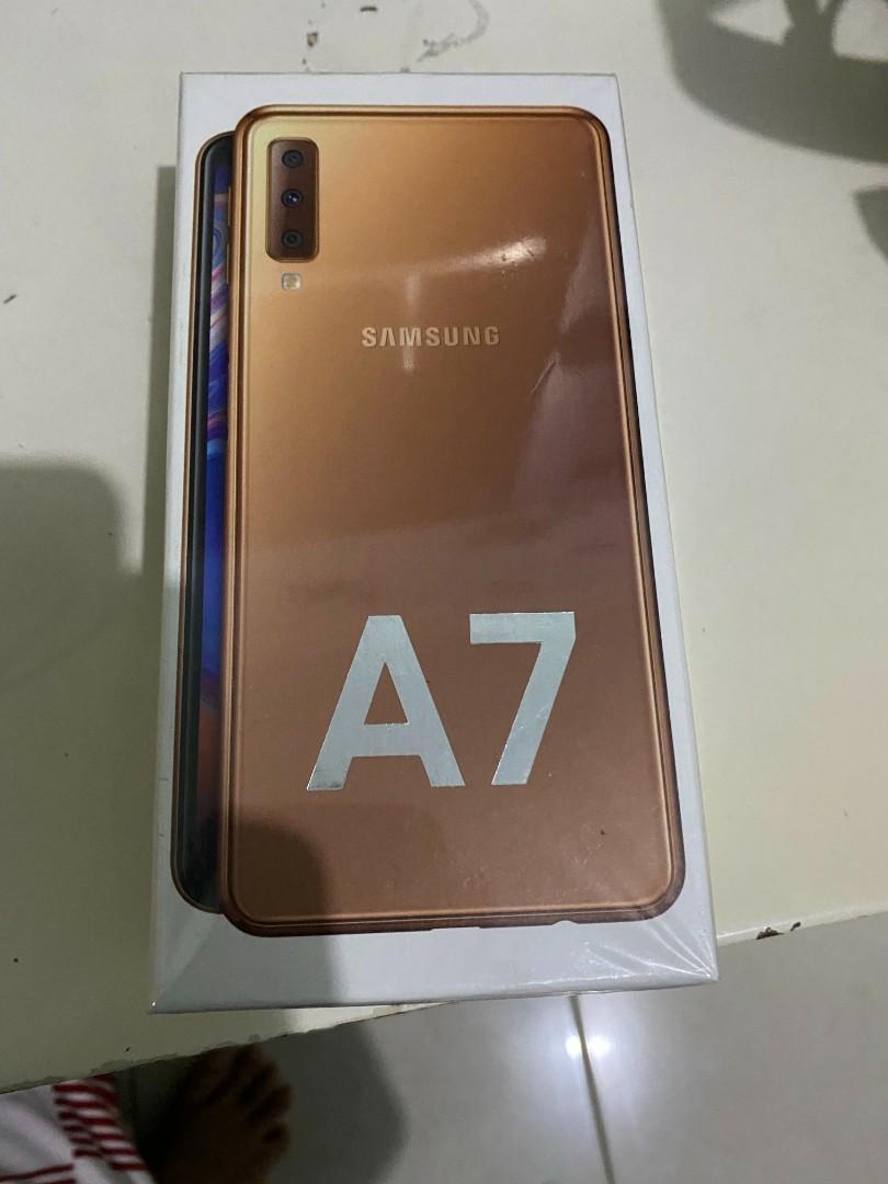 Jual Samsung Galaxy A7 2018 Murah Fullset Ex Cewe