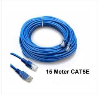 Kabel LAN 15m - Cable LAN UTP CAT5 RJ45 15 Meter
