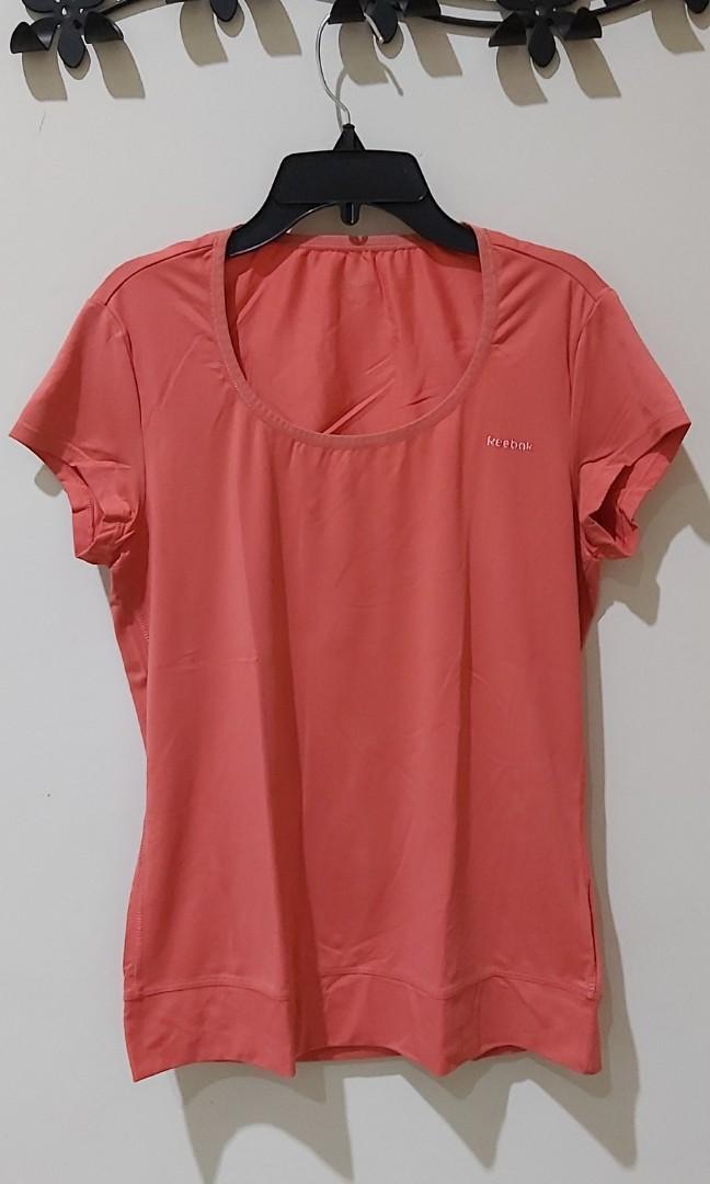 Kaos Reebok Dry Fit Orange #Special1010
