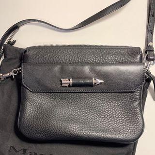 Leather Mackage Crossbody Bag