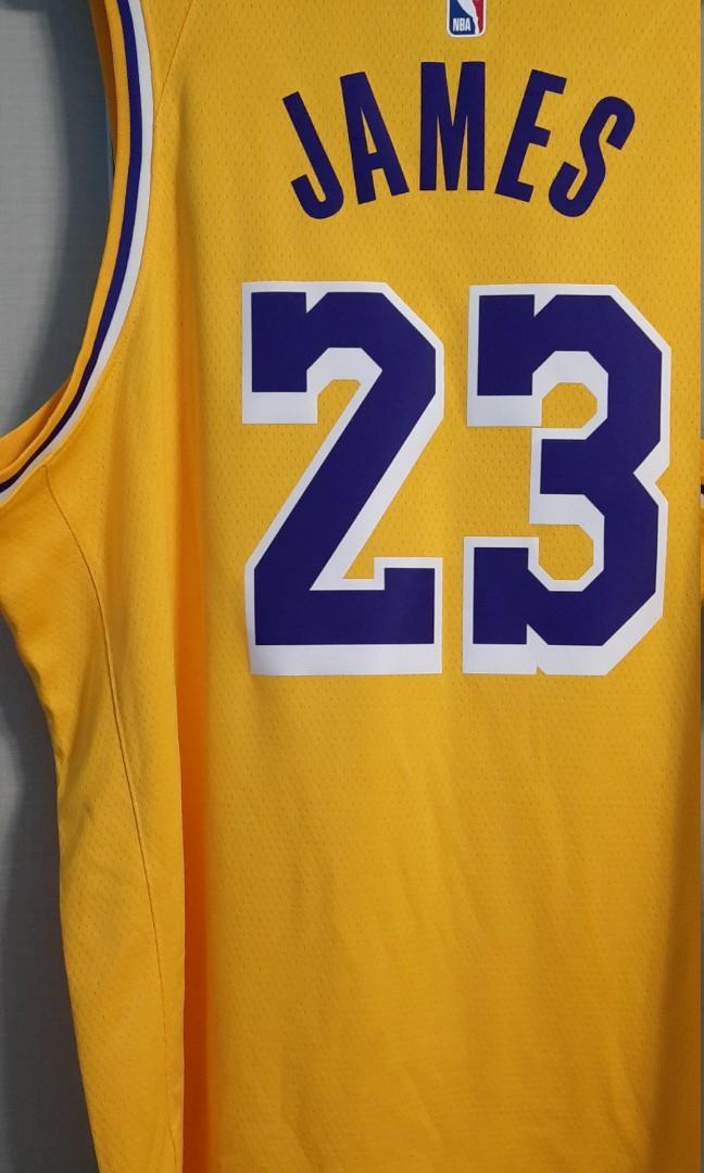 LeBron James 湖人球衣 全新含調 今年總冠軍賽MVP (***請看關於我)