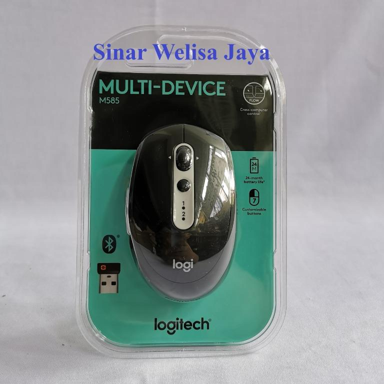 Logitech Mouse Wireless Multi Device - M585