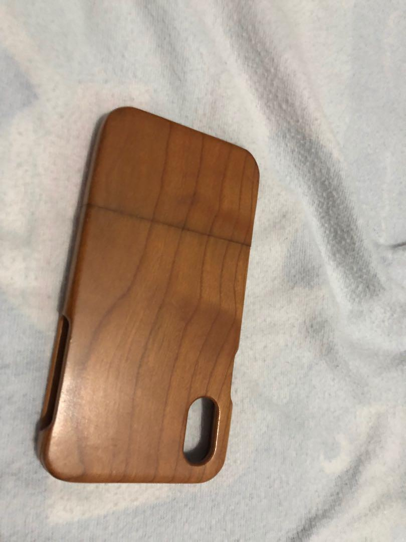 Natural Wooden iPhone X XS Case