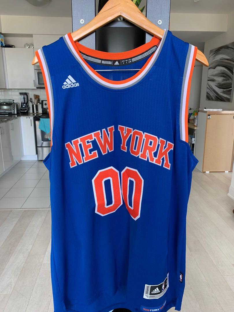 New York 00 Swingman Jersey Large