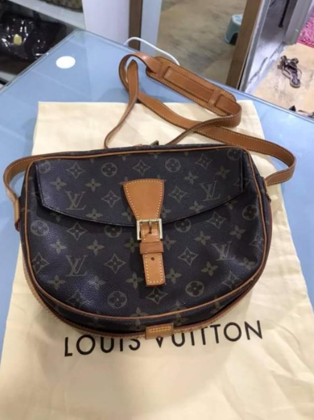 Original Louis Vuitton Monogram Jeune Fille Crossbody