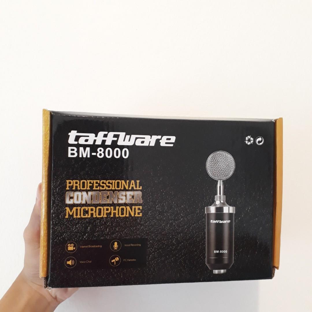 Professional Condenser Microphone Taffware BM-8000