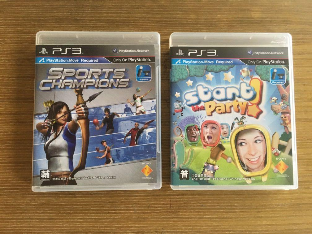 PS3 體感遊戲