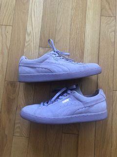 puma suede sneakers size 8.5 women's