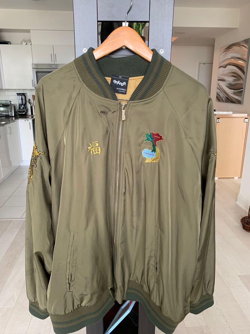 RARE - Entreel's Sleek Olive Vietnam Bomber