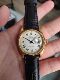 Rolex Datejust 16018 Buckley Dial