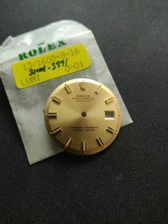 Rolex Datejust 1601 Sigma Wide Boy Dial