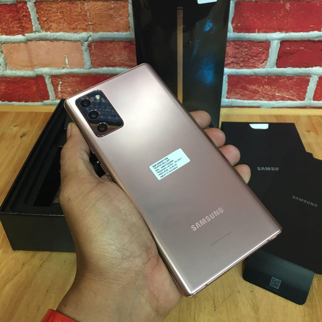 Samsung Note 20 bronze  sein cantik abis