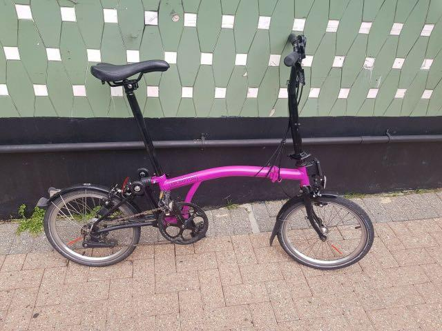 Sepeda Lipat 2015 Brompton M6L Black Edition