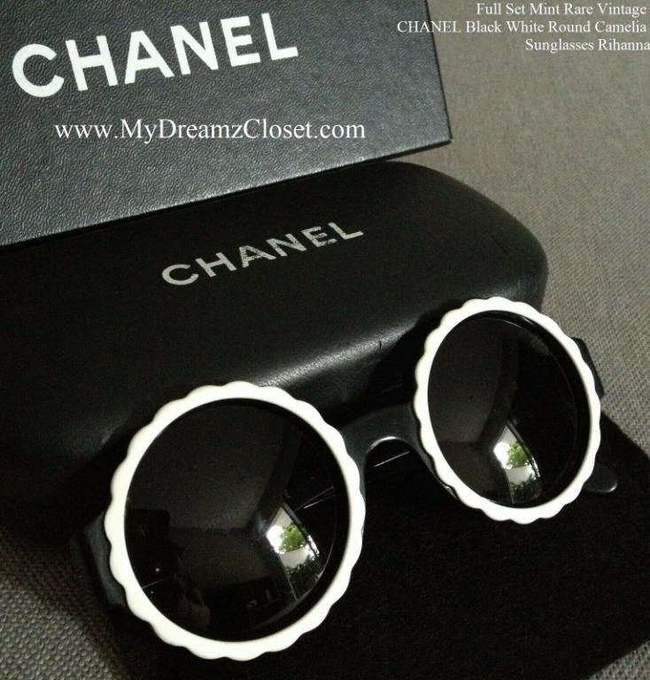 SOLD OUT CHANEL 18K Rose Pink Gold Mirror Pilot Summer Sunglasses