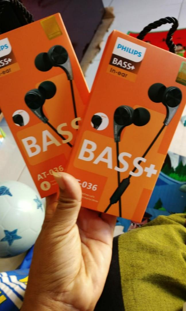 #special1010 - Headset Philips Bass+ AT-036