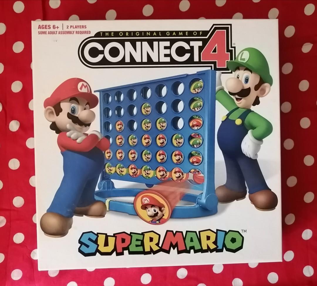 Super Mario Bros. Connect 4 game