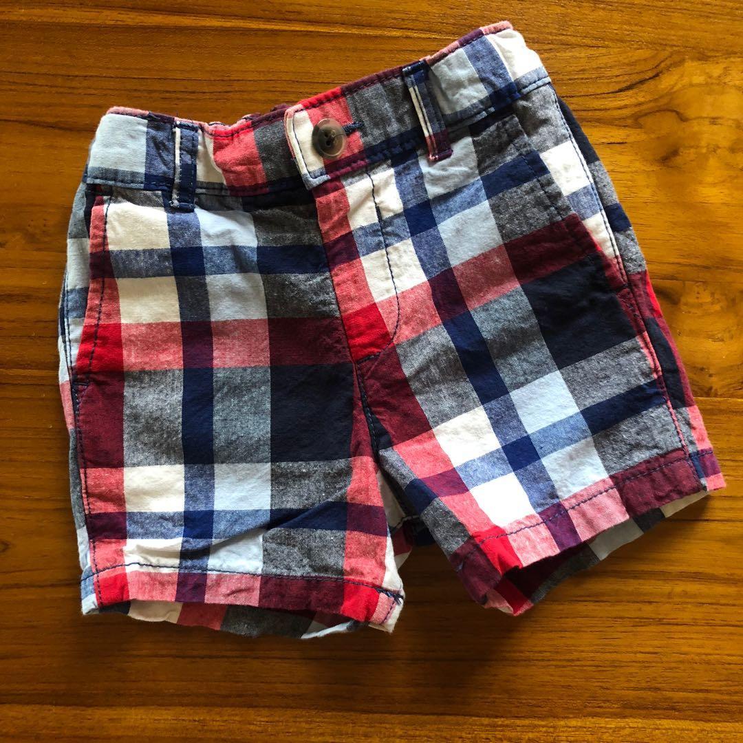 TCP 格子短褲