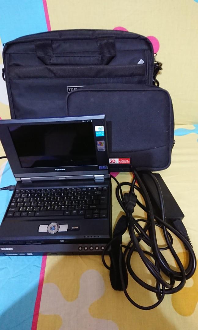 Toshiba Libretto U100 藍色7吋小筆電