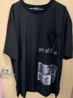 圖案T恤/短袖上衣/oversize  #WATER