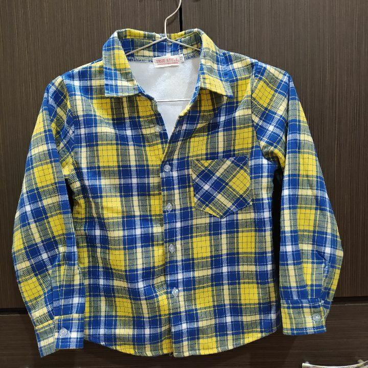 TRUE STYLE鋪棉保暖襯衫