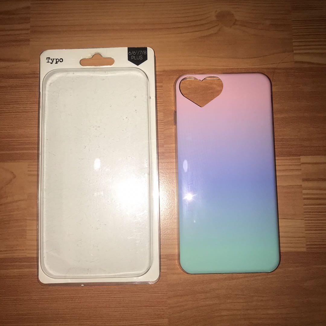 Typo softcase iphone 6/6s/7/8 plus case