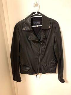 Women's Armani Exchange Leather Jacket