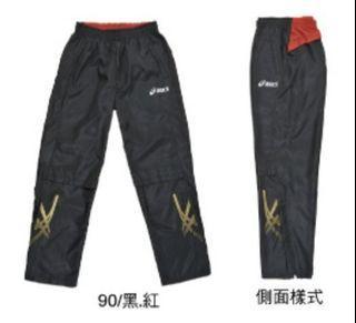 【原價1260】免運ASICS透氣運動長褲(XL/男)