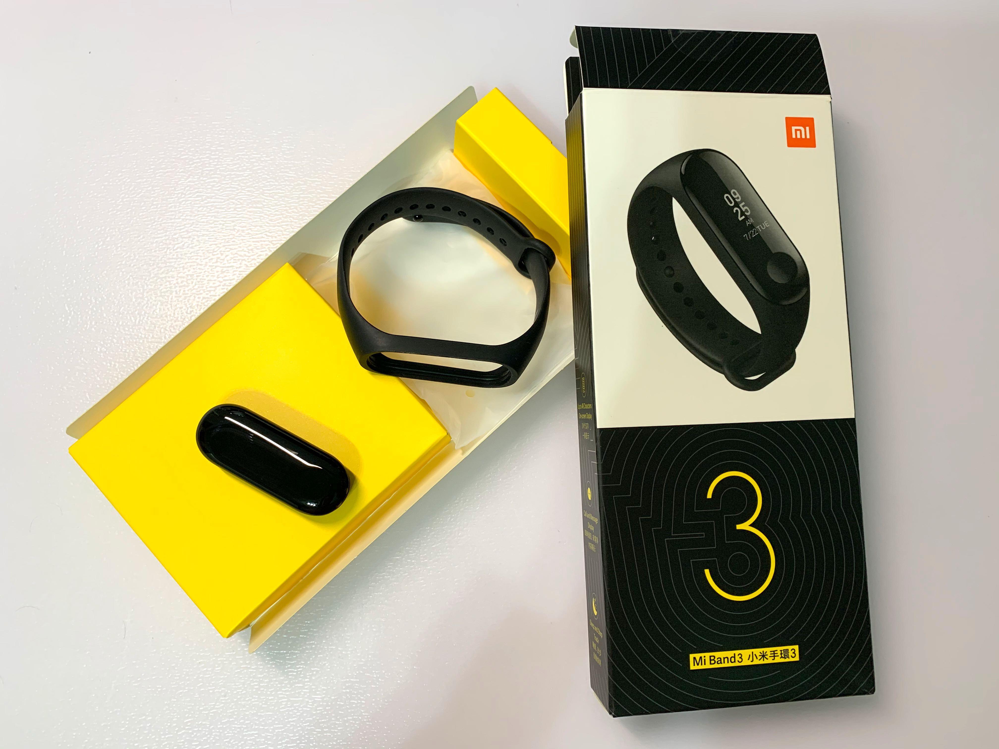 小米手環3 近全新 含盒裝配件