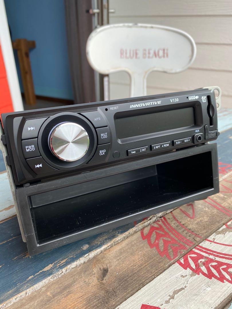 創新牌 INNOVATIVE V130 汽車音響主機 1-DIN SD/USB/MP3/無碟機