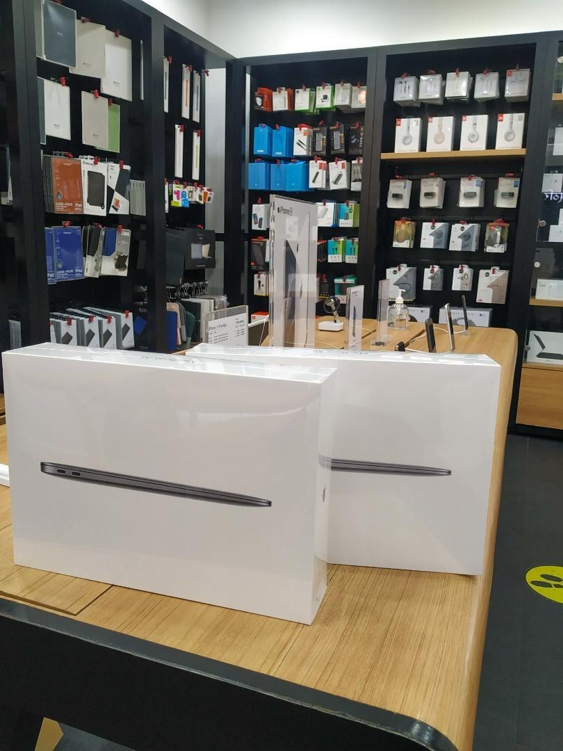 BISA CICILAN MacBook Air 2020 MWTJ2 Garansi iBox Dp Ringan Free admin