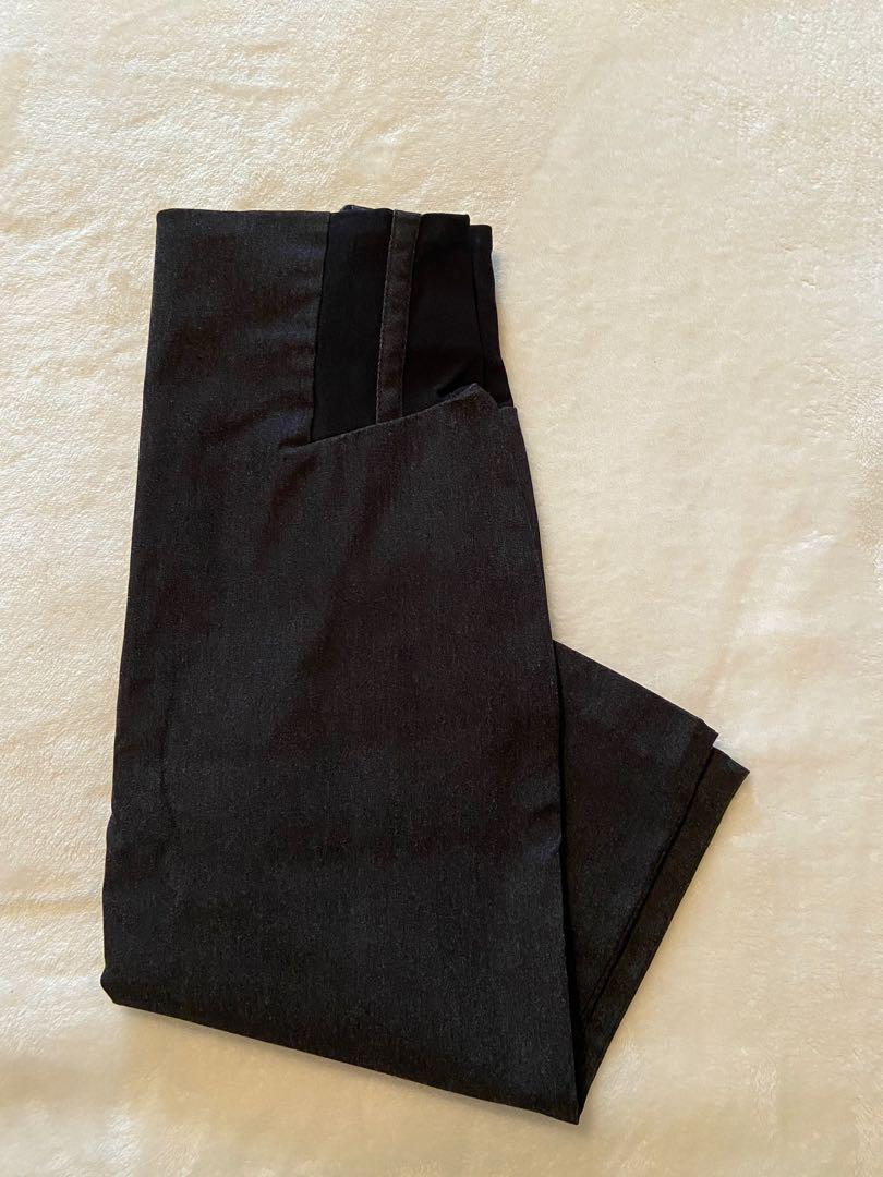 Black/Grey Pencil Skirt